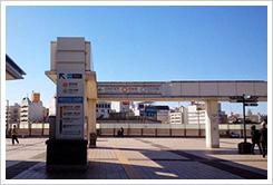 上野駅 パンダ橋口
